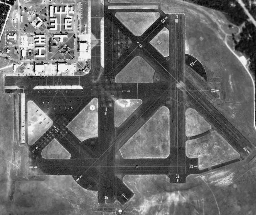 10/28/65 Aerial Photo Of Ellyson(courtesy Of The FL DOR